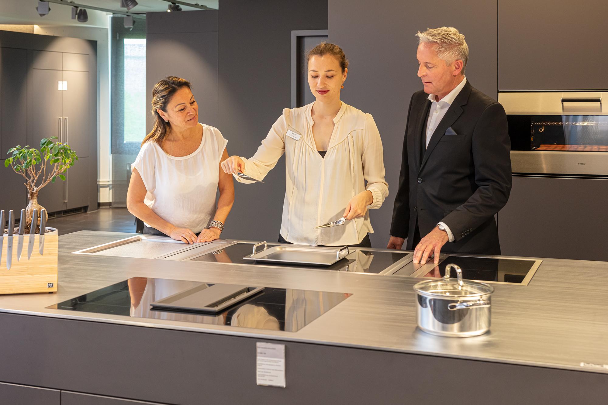 Showrooms und Kochevents der Marken Bosch, Siemens und Gaggenau